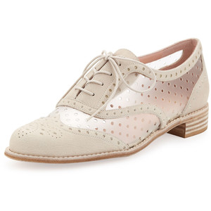 Stuart Weitzman Dandyperf Perforated Oxford