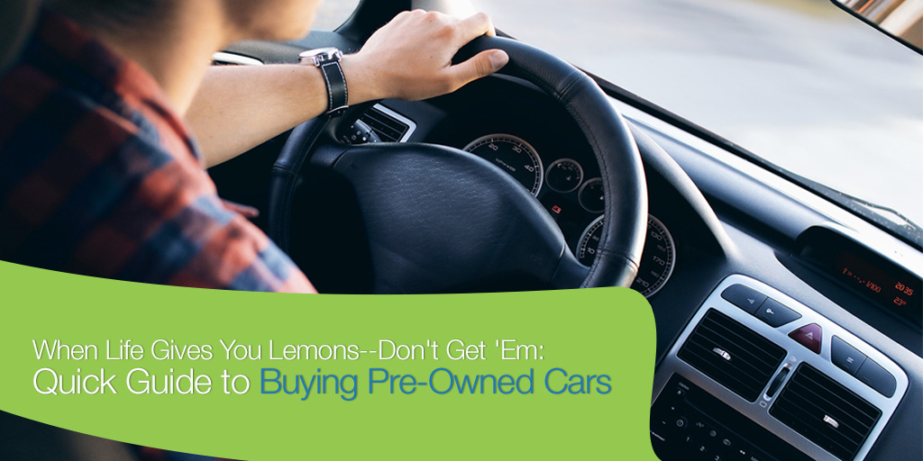 When Life Gives You Lemons–Dodge 'Em: Essential Guide to Buying Pre-Owned Cars