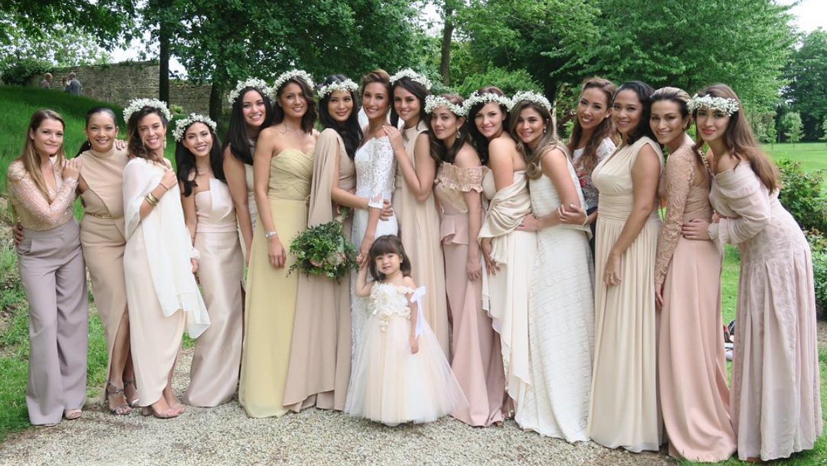 Look: These It Girls Just Got Married and They Will Totally Give You ...