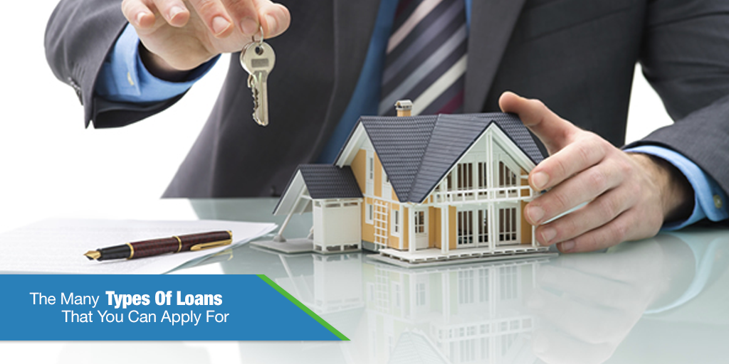 The Many Types Of Loans That You Can Apply For (Infographic)