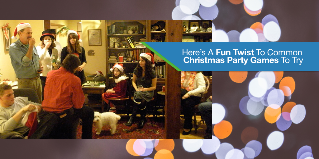 Here's A Fun Twist To Common Christmas Party Games To Try