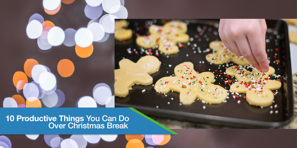10 Productive Things You Can Do Over Christmas Break