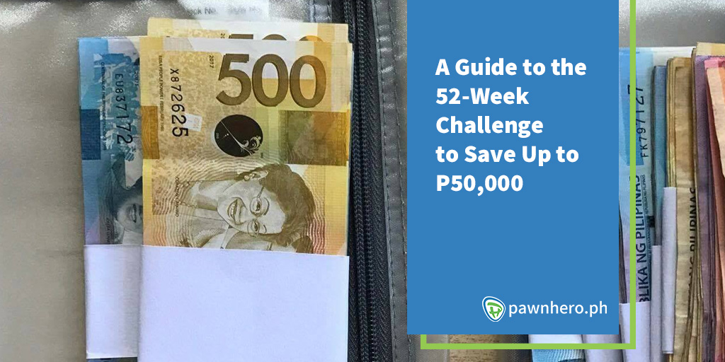 A Guide to the 52-Week Challenge to Save Up to P50,000